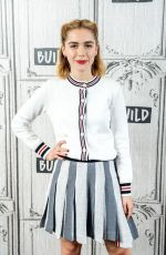KIERNAN SHIPKA at Build Series in New York 04/03/2019