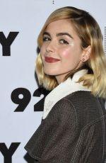 KIERNAN SHIPKA at Chilling Adventures of Sabrina Cast at 92Y in New York 04/04/2019