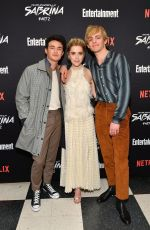 KIERNAN SHIPKA at Chilling Adventures of Sabrina: Part 2 Screening in New York 04/03/2019