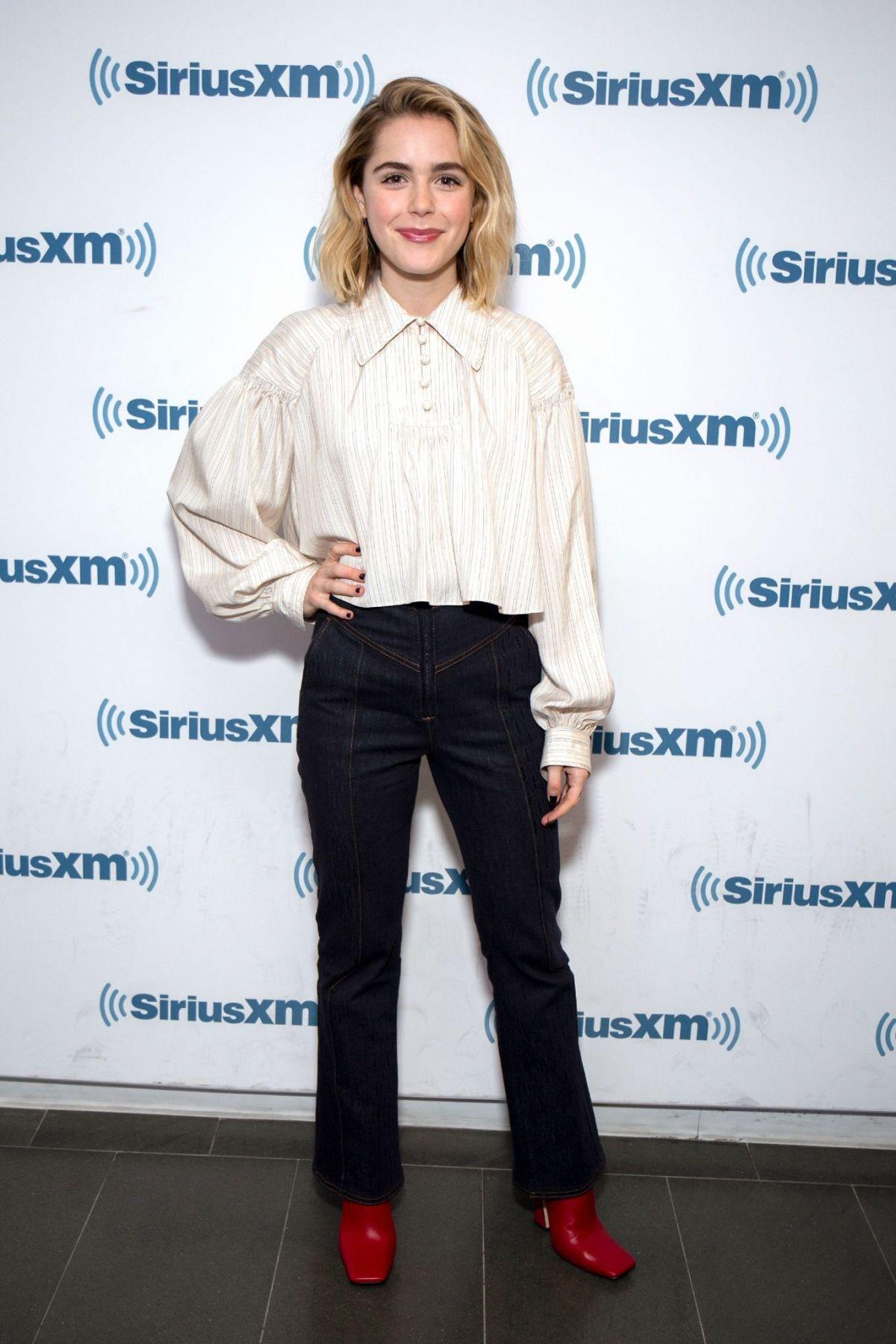 Kiernan Shipka At Siriusxm Studios In New York 04 02 2019