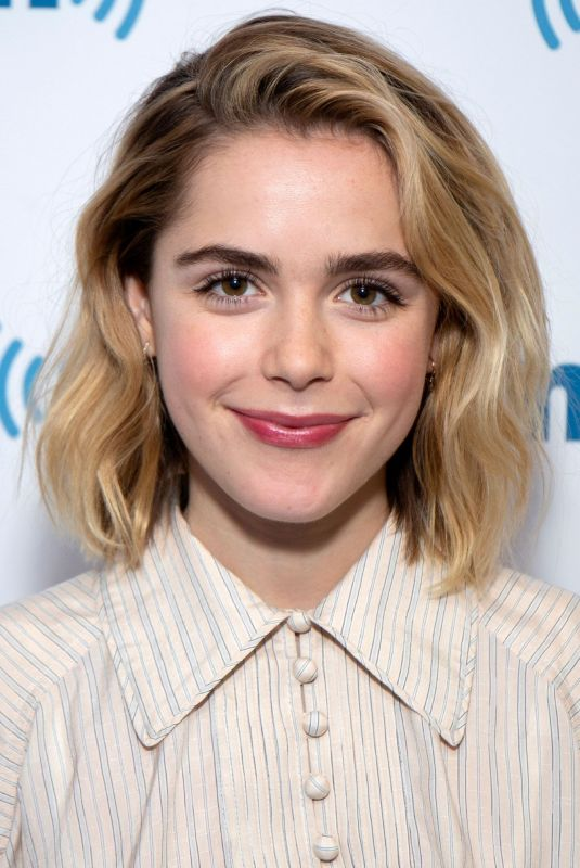 KIERNAN SHIPKA at SiriusXM Studios in New York 04/02/2019