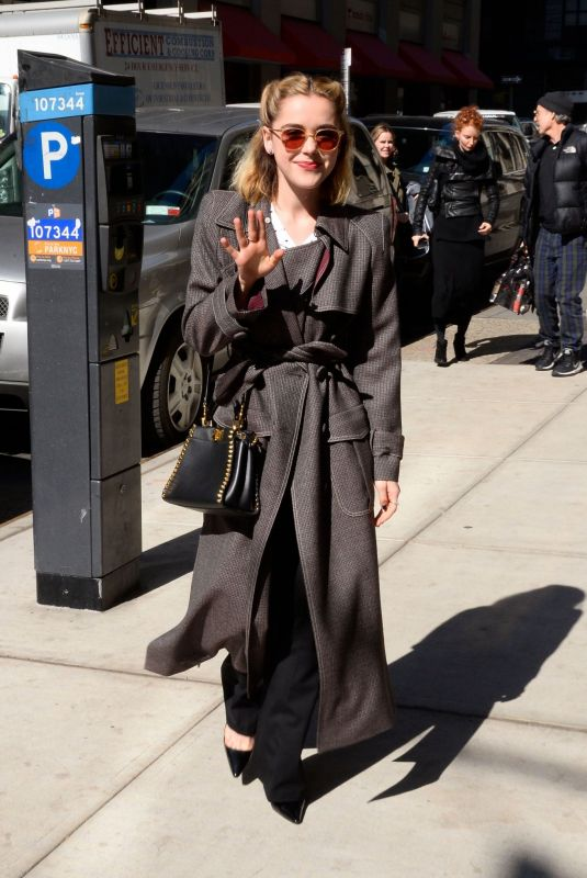 KIERNAN SHIPKA Out and About in New York 04/03/2019
