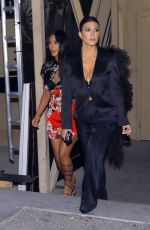 KIM and KOURTNEY KARDASHIAN Night Out in Las Vegas 04/01/2019