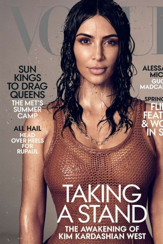 KIM KARDASHIAN for Vogue Magazine, May 2019