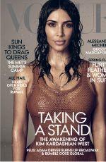KIM KARDASHIAN in Vogue Magazine, May 2019 Issue