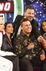 KIM, KOURTNEY and KHLOE KARDASHIAN at Jimmy Kimmel Live in Las Vegas 04/01/2019