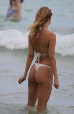 KIMBERLEY GARNER in Bikini on the Beach in Miami 04/02/2019