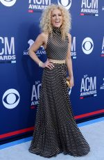 KIMBERLY SCHALPMAN at 2019 Academy of Country Music Awards in Las Vegas 04/07/2019