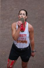 KIRSTY GALLACHER and HELEN SKELTON at 39th London Marathon 04/28/2019