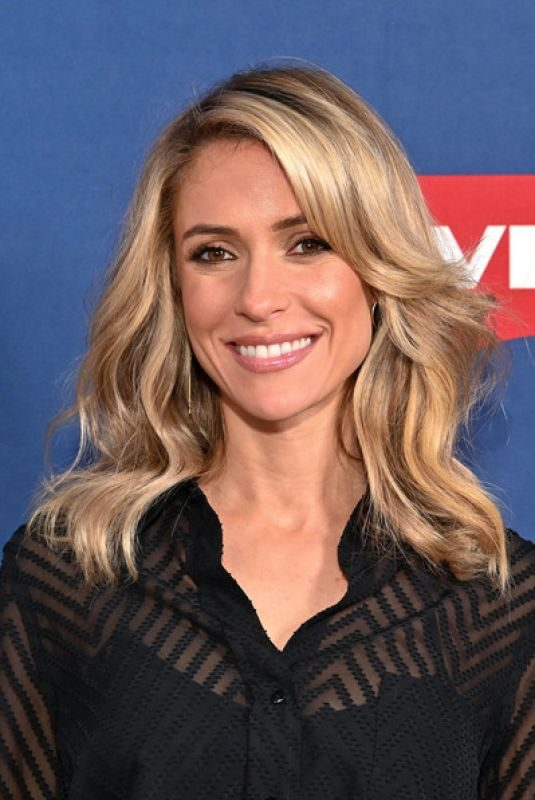 KRISTIN CAVALLARI on the Set of Eextra at Levi's Store Times Square in New York 40/15/2019