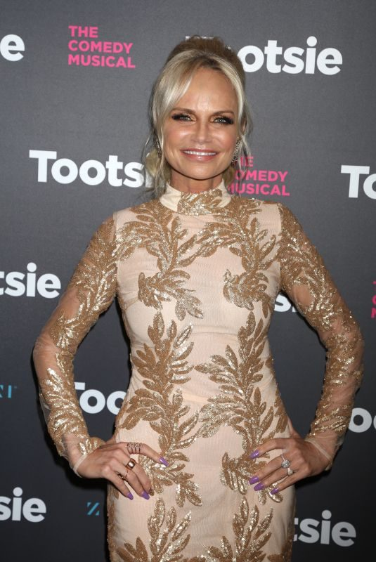 KRISTIN CHENOWETH at Tootsie Broadway Play Opening Night in New York 04/23/2019