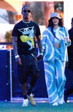 KYLIE JENNER and Travis Scott Arrives at Coachella in Indio 04/13/2019