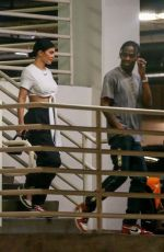 KYLIE JENNER and Travis Scott Out in Beverly Hills 04/08/2019