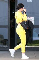 KYLIE JENNER Arrives on a Jet Back to Los Angeles 03/31/2019