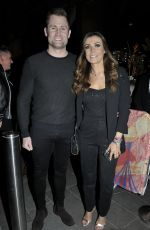 KYM MARSH at The Ivy Manchester Roof Top Re-launching a Circus Party in Manchester 04/12/2019