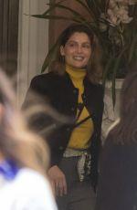 LAETITIA CASTA Leaves Hotel St. Regis in Rome 04/06/2019