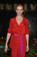 LARA STONE at The Ivy Manchester Roof Top Re-launching a Circus Party in Manchester 04/12/2019