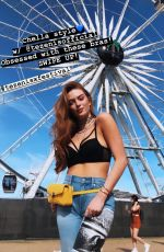 LARSEN THOMPSON at Coachella - Instagram Pictures and Videos, April 2019