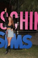 LARSEN THOMPSON at Moschino x The Sims Party at Coachella Festival 04/13/2019
