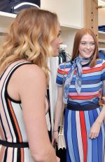 LARSEN THOMPSON at Tory Burch & Daily Celebrate Spring with Tory Burch Eau de Parfum in Beverly Hills 04/23/2019
