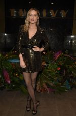 LAURA WHITMORE at The Ivy Manchester Roof Top Re-launching a Circus Party in Manchester 04/12/2019