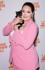 LAUREN ASH at Best Friends Animal Society Benefit To Save Them All in New York 04/02/2019