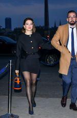 LEA SEYDOUX Arrives at Diner du Cinema - Madame Figaro in Paris 04/12/2019