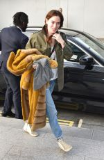 LENA HEADEY Out and About in London 04/12/2019