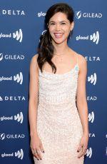 LILAN BOWDEN at 2019 Glaad Media Awards in Los Angeles 03/28/2019