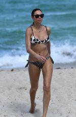 LILLY BECKER in BIkini at a Beach in Miami 04/16/2019