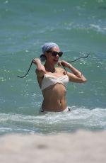 LILLY BECKER in BIKINI on the Beach in Miami 04/13/2019