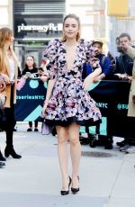 LILY COLLINS at AOL Build in New York 04/08/2019