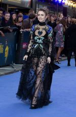 LILY COLLINS at Extremely Wicked, Shockingly Evil and Vile Premiere in London 04/24/2019