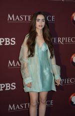 LILY COLLINS at Les Miserables Premiere in New York 04/08/2019