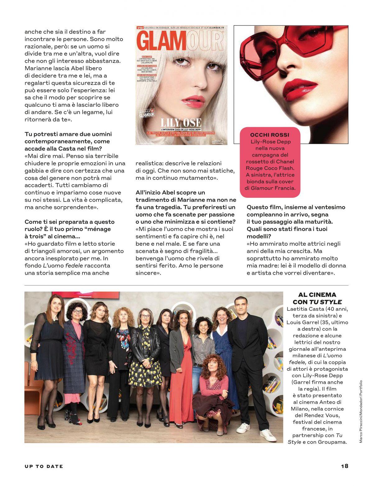 LILY-ROSE DEPP in Tu Style Magazine, April 2019 – HawtCelebs