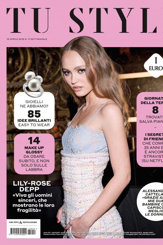 LILY-ROSE DEPP in Tu Style Magazine, April 2019