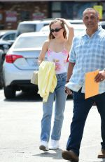 LILY-ROSE DEPP Out and About in Los Angeles 04/08/2019