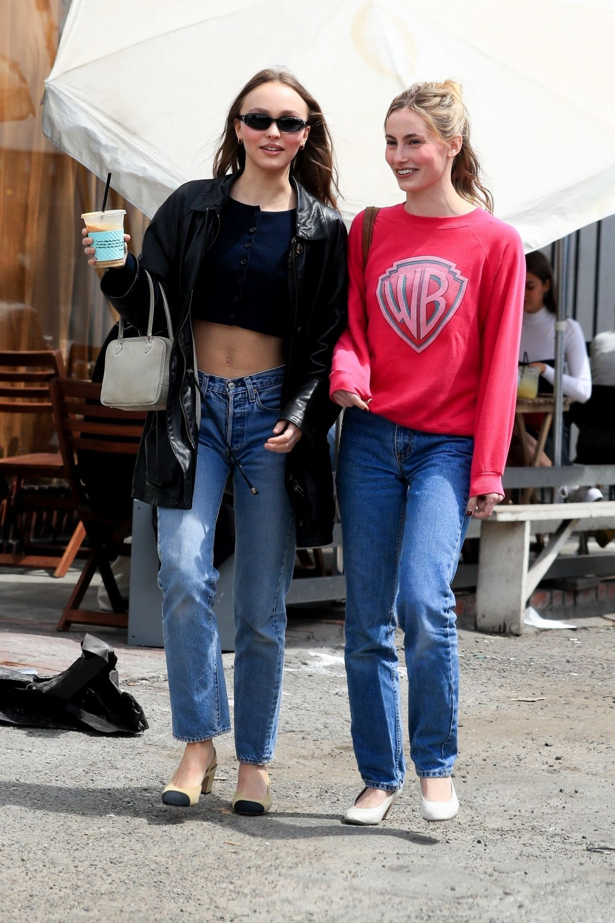 6372f37fad5 LILY-ROSE DEPP Out Shopping in Los Angeles 04 05 2019 credit  hawtcelebs    IMG  ...