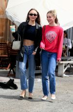 LILY-ROSE DEPP Out Shopping in Los Angeles 04/05/2019