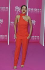 LINDSEY MORGAN at 2nd Canneseries International Series Festival Opening in Cannes 04/05/2019