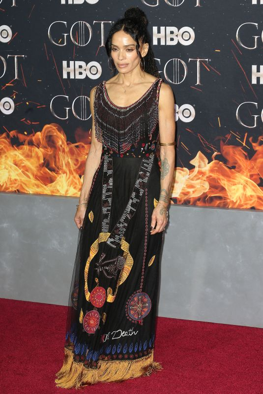 LISA BONET at Game of Thrones, Season 8 Premiere in New York 04/03/2019