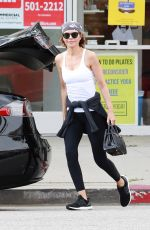 LISA RINNA Leaves Yoga Class in Studio City 04/05/219