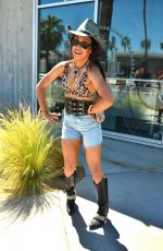 LIZA KOSHY at Lucky Brand & Rolling Stone Live Present Desert Jam in Palm Springs 04/13/2019