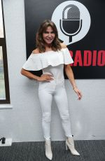 LIZZIE CUNDY All in White Out in London 03/30/2019