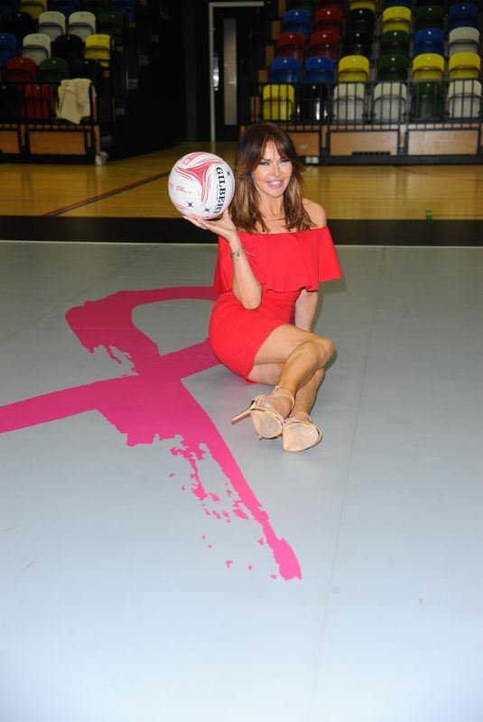 LIZZIE CUNDY at Celebrity Pink Charity Netbal Match in London 04/27/2019