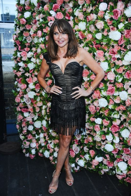 LIZZIE CUNDY at Feast Rooftop Garden Launch in London 04/25/2019