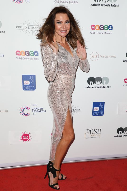 LIZZIE CUNDY at Jog-on to Cancer Party in London 04/10/2019