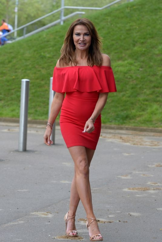 LIZZIE CUNDY Out and About in London 04/26/2019