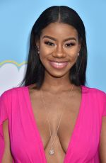 LONDON SEABREEZE at The Beach Bum Premiere in Hollywood 03/28/2019