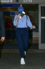 LORDE at LAX Airport in Los Angeles 04/05/2019